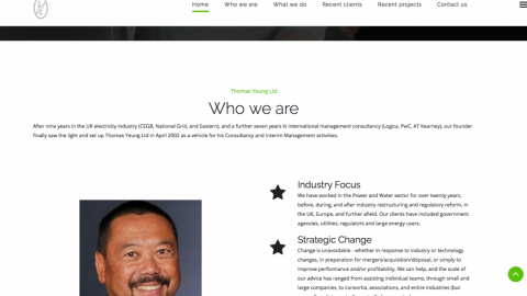 New website launch for Thomas Yeung Ltd