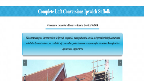 Loft conversions Ipswich Suffolk